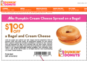 Dunkin Donuts Coupons for Mobile and Print  (3)