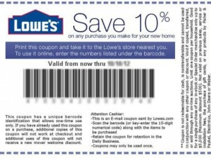 photograph regarding Lowes 10% Printable Coupon named Printable Lowes Discount coupons Printable Discount codes On-line
