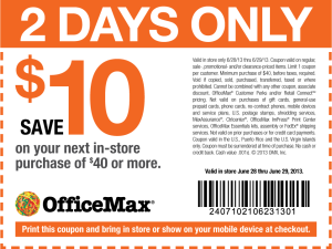 New OfficeMax Coupons (4)