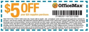 New OfficeMax Coupons save