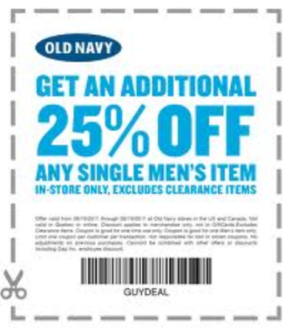 OLD Navy Store COupons and Codes  (3)
