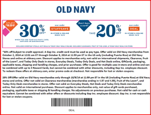 OLD Navy Store COupons and Codes  (4)