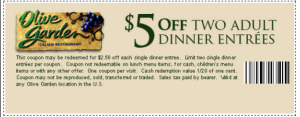 Olive Garden Coupons - Free 2015 (2)