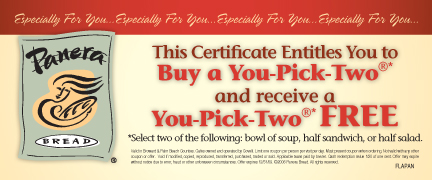 Panera Bread Coupons download