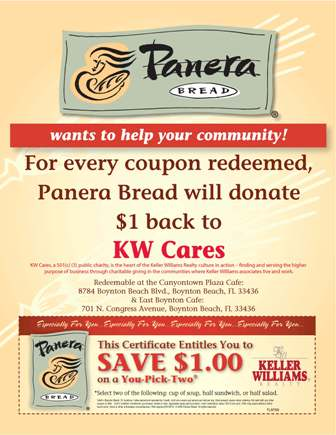 Panera rapid pick up coupon code