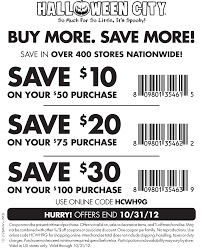 Print save 15 off costumes halloween coupons part city and Spirits  (1)