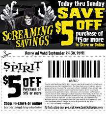 Print save 15 off costumes halloween coupons part city and Spirits  (2)