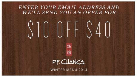 Printable PF Changs Coupons  (1)