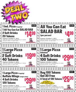 free Chuck E Cheese Printable Coupons (4)