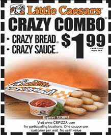picture regarding Little Caesars Printable Coupons known as Very little Ceaser Coupon codes Printable Coupon codes On-line