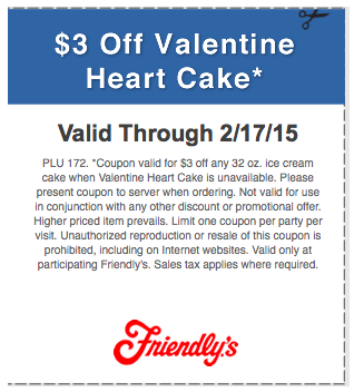 friendly's coupons and Promos  (5)