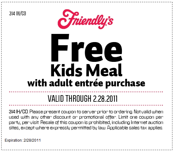 image about Friendly's Ice Cream Coupons Printable Grocery named Friendlys cafe Coupon codes Printable Discount coupons On the web