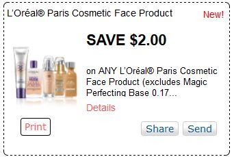 graphic about Printable Cosmetic Coupons named fresh new 2015 Cosmetics make-up samples and discount coupons (2