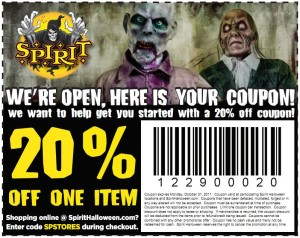new printable - save 15 off costumes halloween coupons part city and Spirits  (4)