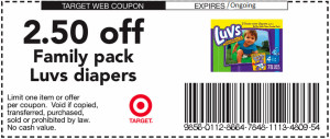 target coupons back to school diapers