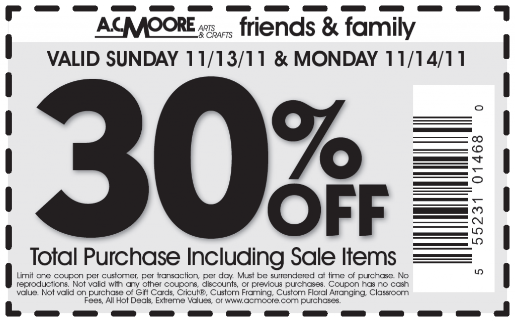 picture regarding Ac Moore Printable Coupon named Ac moore 50 off coupon code / Wcco eating out offers