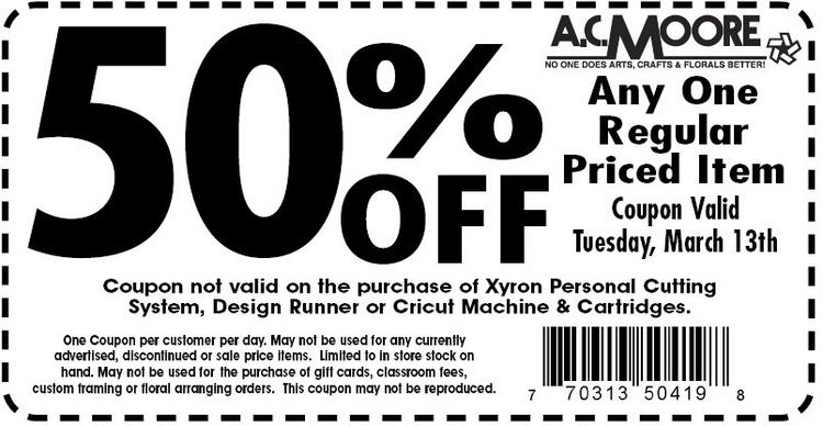 photograph relating to Ac Moore Printable Coupon referred to as AC Moore Discount codes Printable Discount coupons On-line