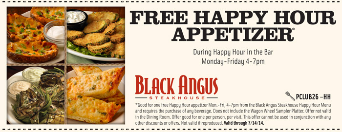 Black Angus Coupons Steakhouse Codes (5)