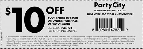 Party City Coupons - new coupons  (1)