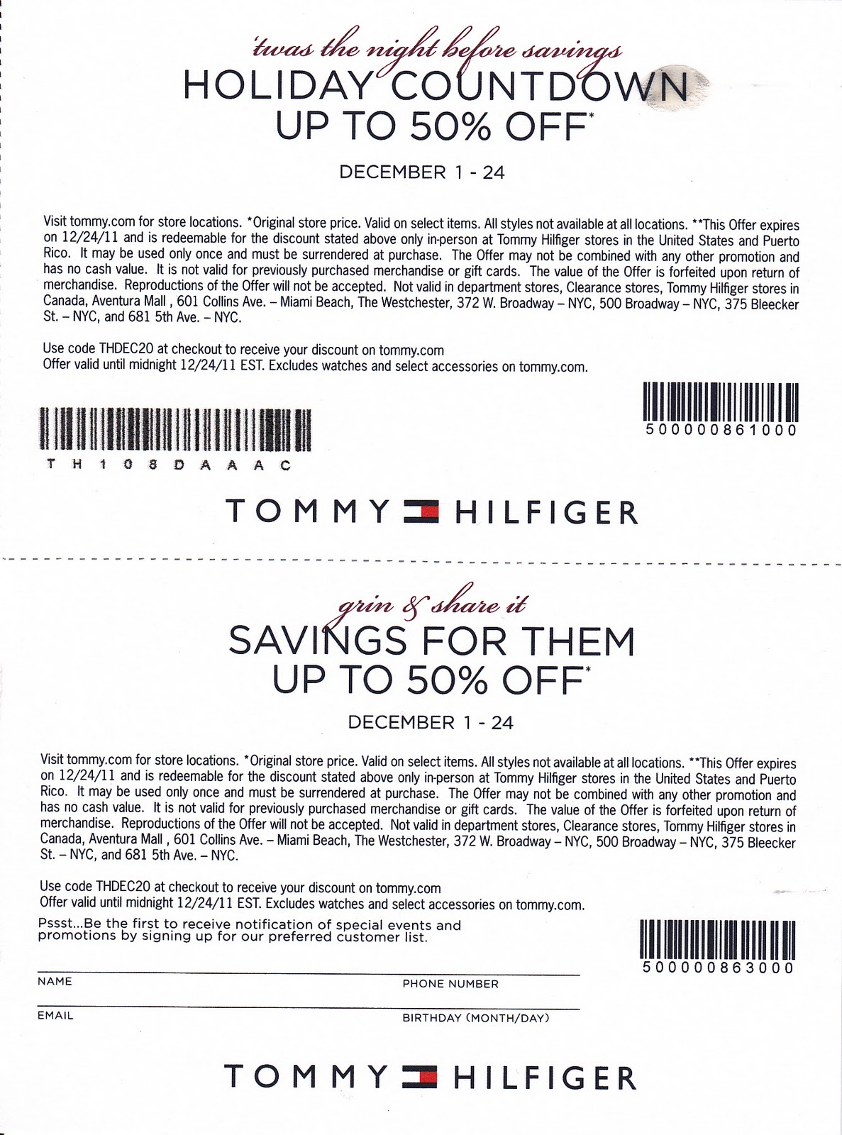 picture regarding Tommy Hilfiger Printable Coupons named Tommy Hilfiger Printable Discount coupons (2) Printable Coupon codes On-line