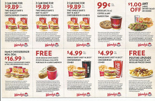 Wendys coupons for september 2015