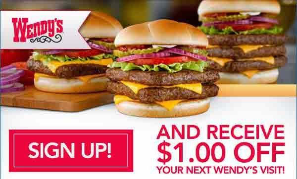 printable Wendys coupon code - Copy