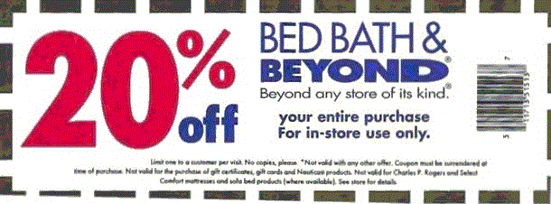 Bed Bath and Beyond Coupons 2015 print