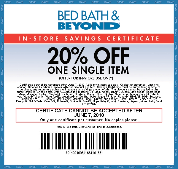 Bye bye baby 20 percent off coupon