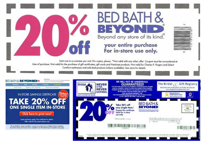 Printable Bed Bath And Beyond Coupons Canada