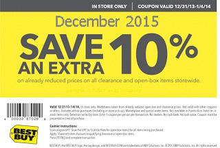 Best Buy coupons december