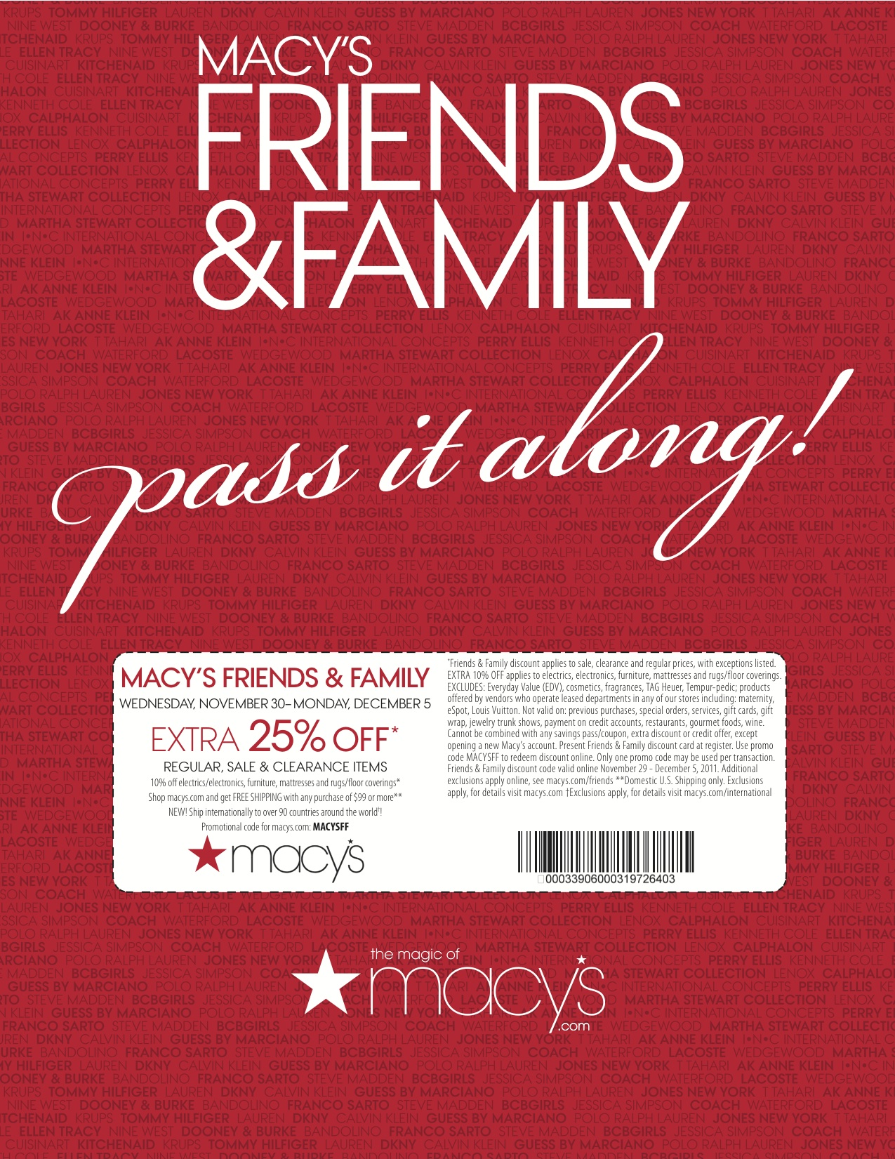Macys online coupon codes