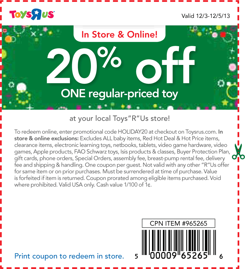 image relating to Toysrus Printable Coupons known as Help save Funds with Toys R US Coupon codes Printable Discount coupons On the net