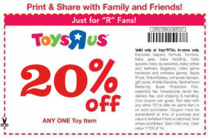 Printable Toys R Us Coupons and codes (2)