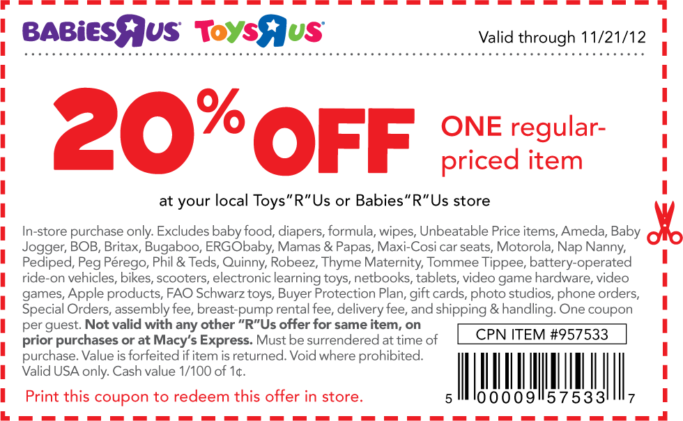 This is a picture of Unforgettable Printable Toy Coupon