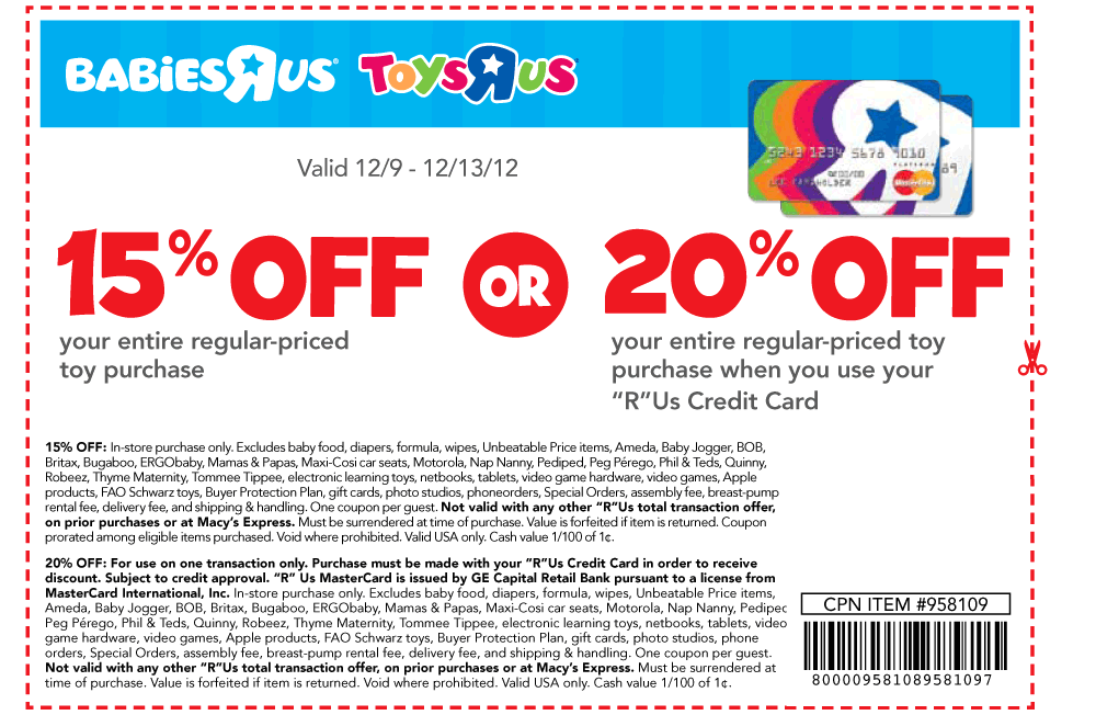 Save with babiies r us coupoins - baby coupon code save 20 percent