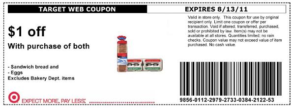 Target-Promo coupons nov