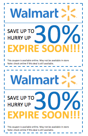 walmart discount coupon template printable new 2015