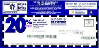 bed bath beyond Coupons - Printable