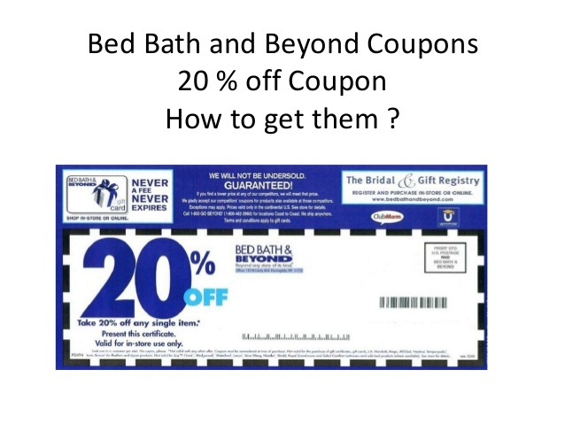 Bed Bath And Beyond Printable Coupons December