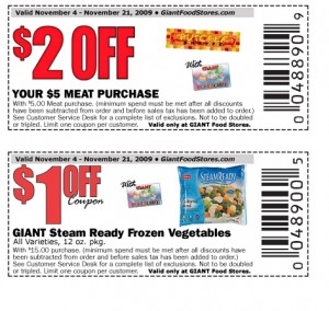 meat and store retail sheet - Printable new grocery coupon