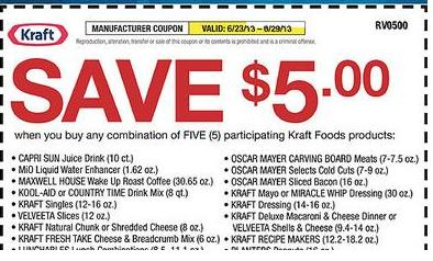picture about Kraft Coupons Printable identified as printable fresh Kraft fresh new Grocery Discount codes 2015 Printable