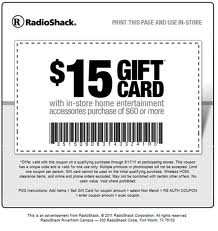shipping online radio shack coupons