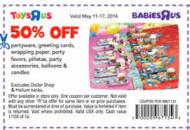 toys r us free baby coupons