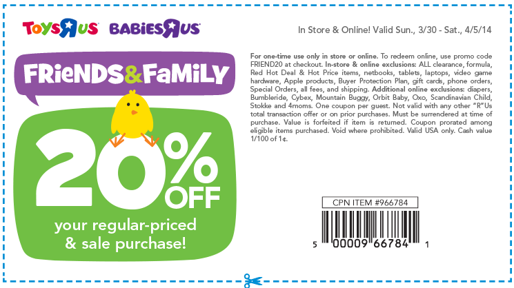 graphic relating to Babies R Us 20 Off Coupon Printable known as Printable infants-r-us-discount codes-20-off 2015 Printable