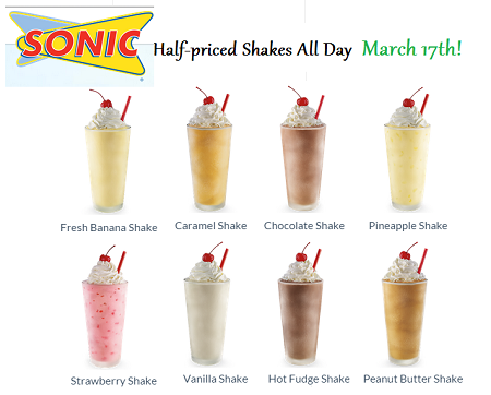 SONIC Burger Coupons - Free Tots (1)