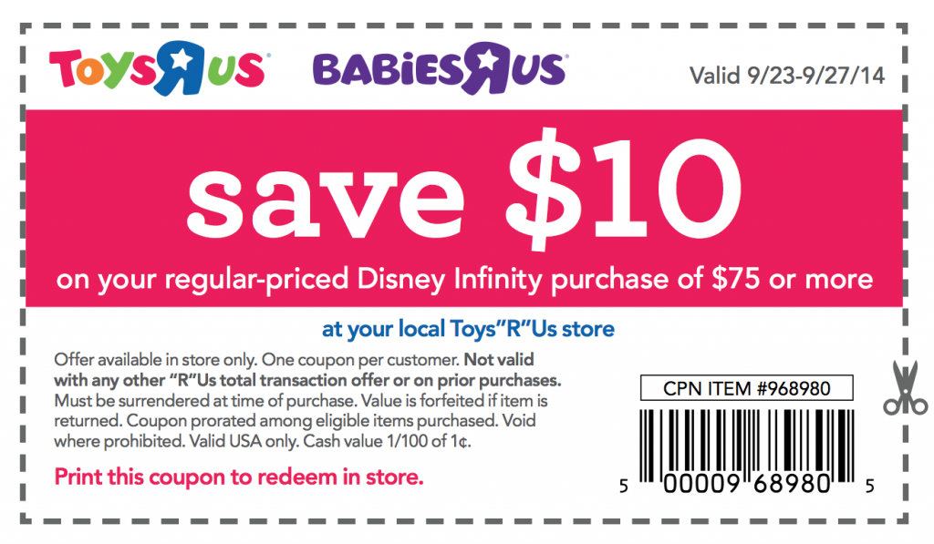 image regarding Toy R Us Coupon Printable titled Clean Printable Toys R Us Discount codes Printable Discount coupons On the internet