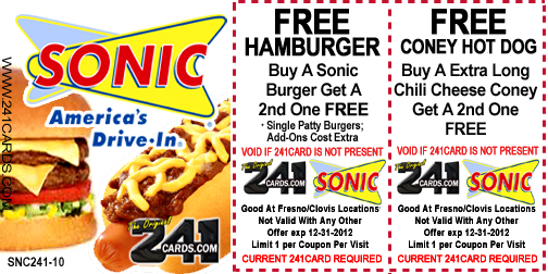 picture regarding Sonic Printable Coupon referred to as Sonic enthusiasm in just discount codes printable / Print Discounted