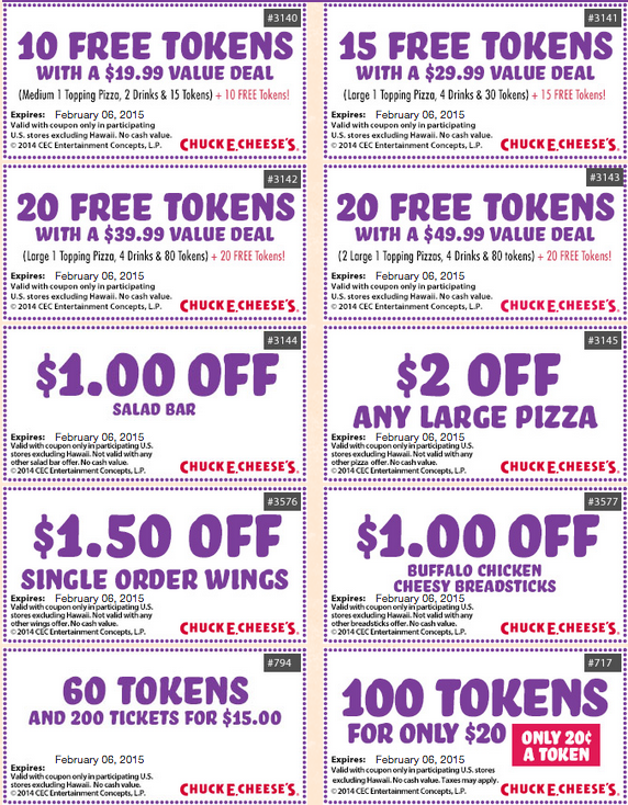 picture about Yoshinoya Coupons Printable named Chuck e cheese printable discount codes october 2018 - Pillows 2 coupon