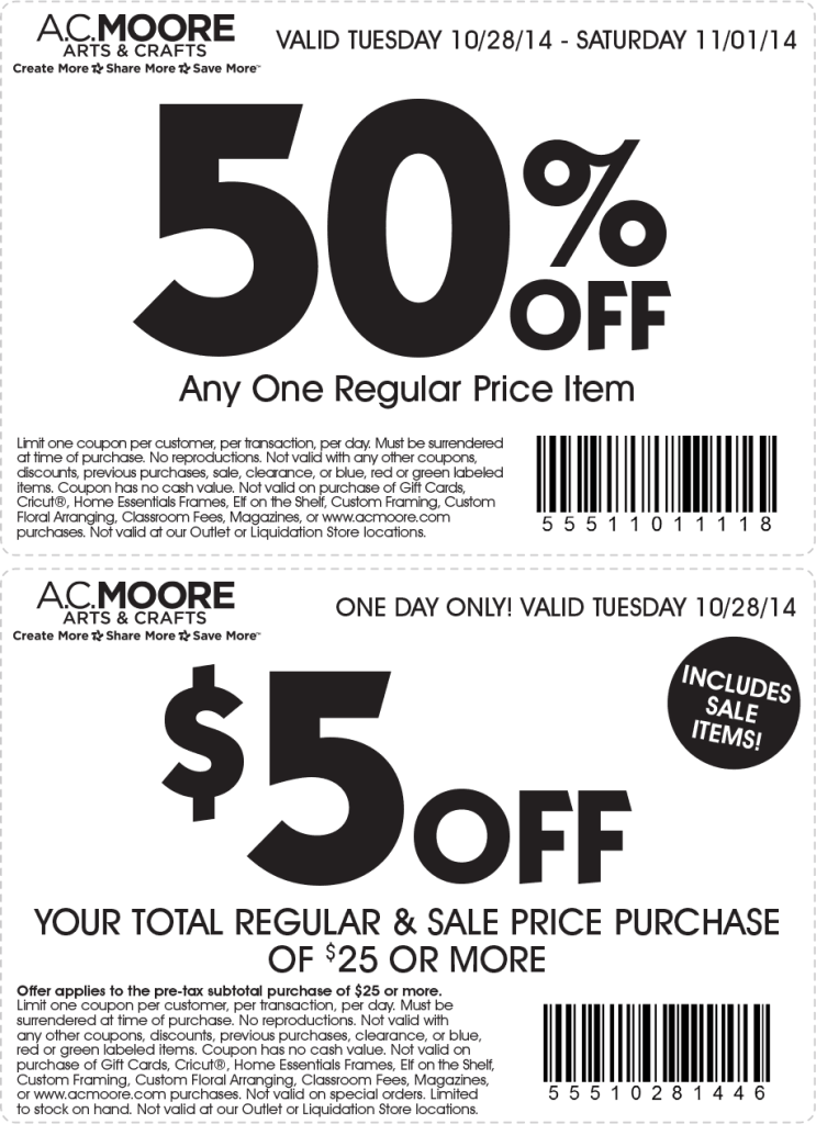 Acmoore coupons and codes – 2016 printable coupons10 percent off