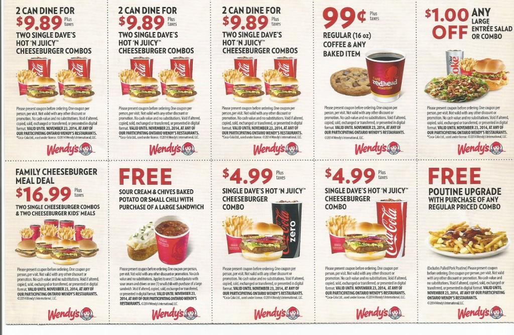 Download PDF , Mobile Jpeg free printable Wendys Coupons (7)